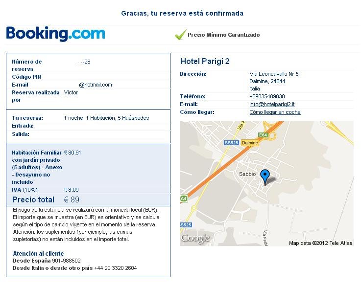 Booking Hotel Tours