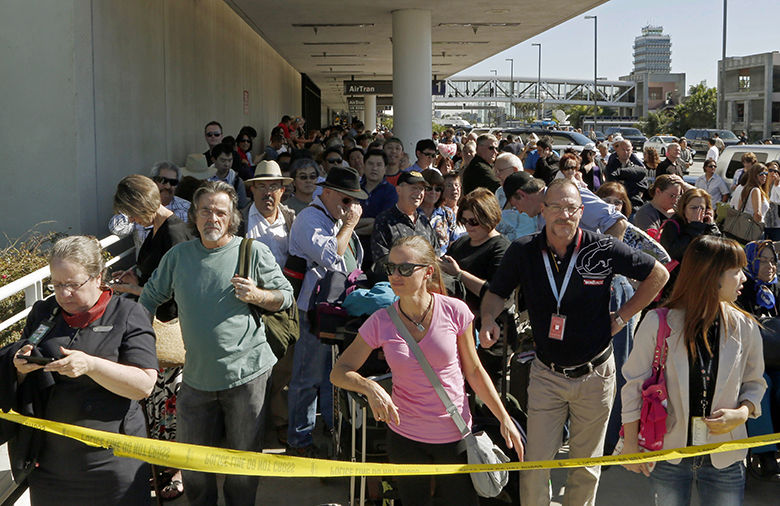Lista de espera de American Airlines en Aeropuerto de Miami