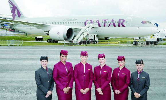 Qatar Airways Cabin Crew1