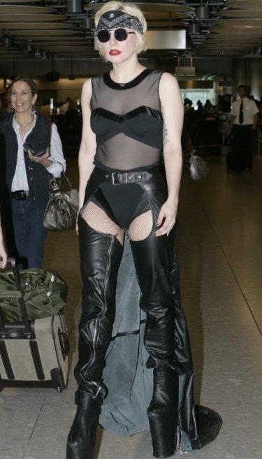 Lady Gaga siendo fiel a sí misma