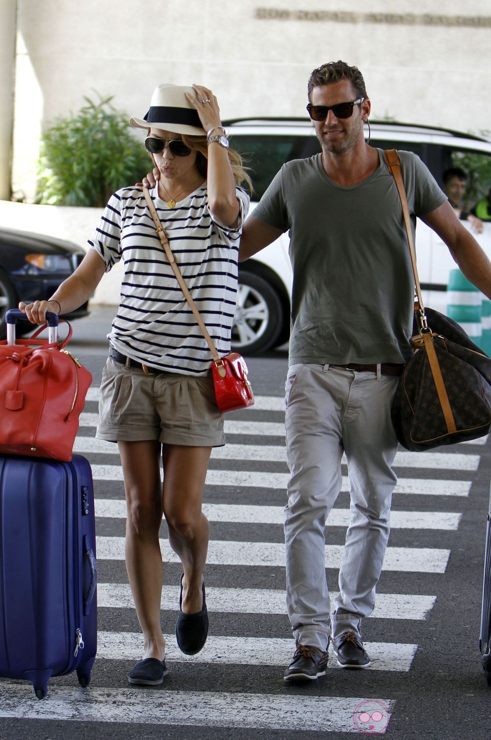 Celebrity Sighting In Palma de Mallorca - July 2, 2012