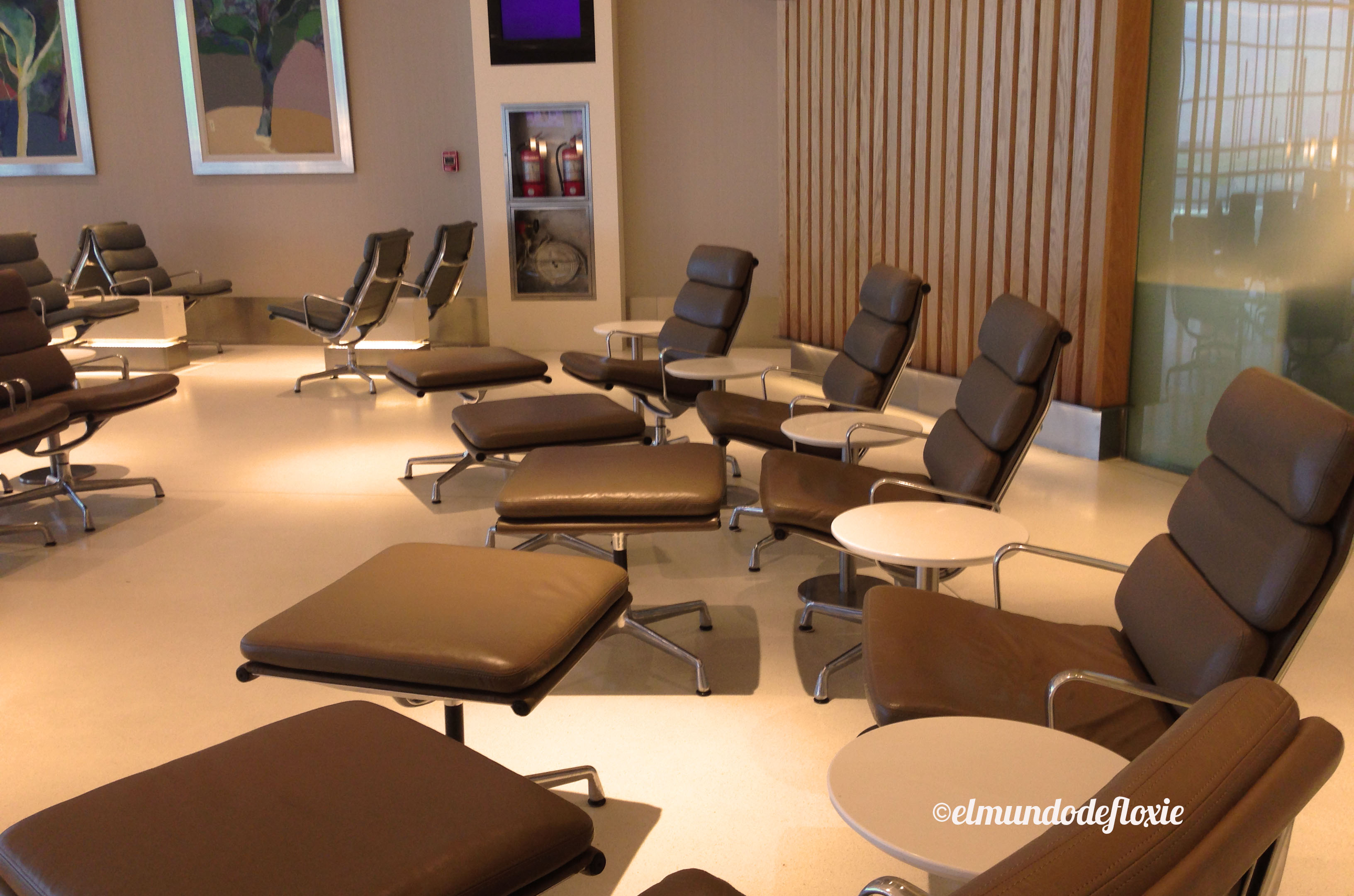 la nueva sala vip de american airlines e iberia en ezeiza