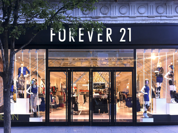 Forever 21 y su local de Oxford St.