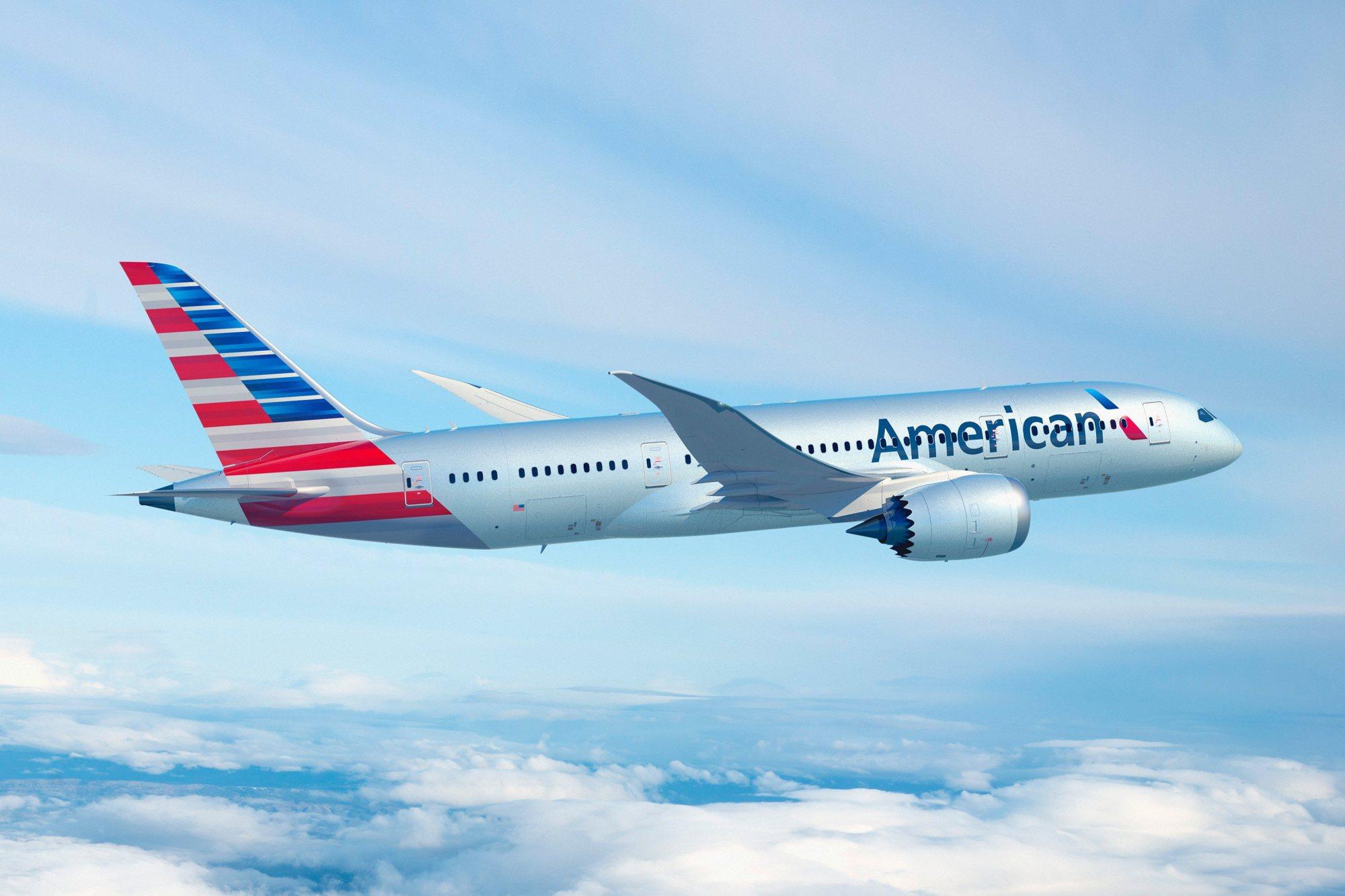 El Boeing 787 Dreamliner De American Airlines Que Utiliza