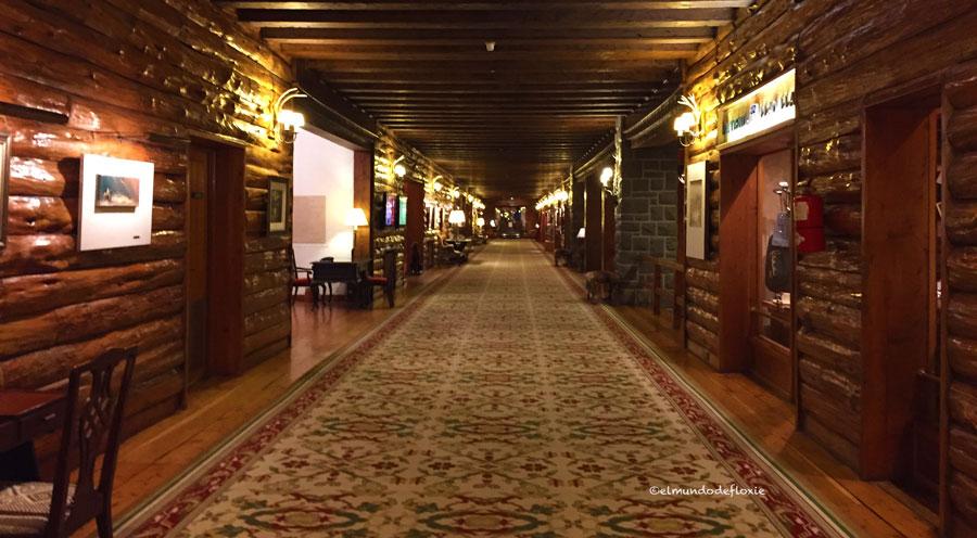 Los pasillos del ala Bustillo