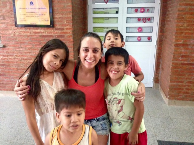 Daniela en el viaje a Clorinda, Formosa