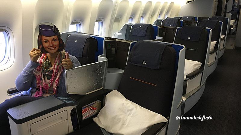 Clase Business de KLM